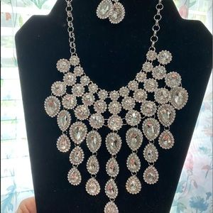 Beautiful necklace and earrings